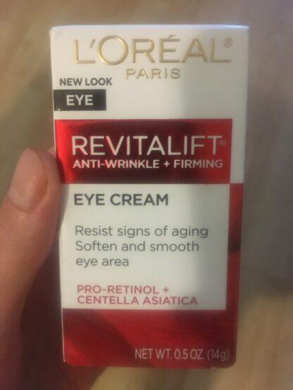 loreal undereye cream
